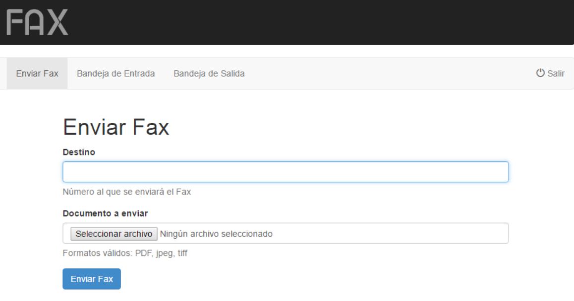 fax envio